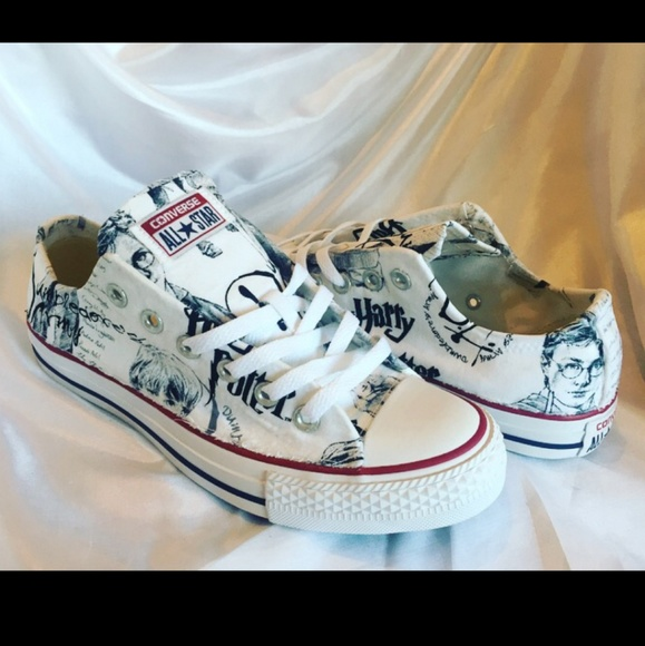 4fde55d1e2cfe4 Converse Shoes - Harry Potter Converse